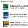 Articulate Announces Rapid E-Learning Studio