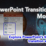 PowerPoint Transitions: Morph