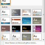 The Evolution of Office Themes