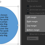 Align Text within Shapes/Text Boxes in PowerPoint 2016 for Windows