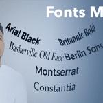 In PowerPoint, Fonts Matter