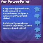 Jigsaw Shapes for PowerPoint