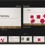 Presenter View in PowerPoint 2016 for Mac