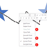 Edit Points in Motion Paths of Animations in PowerPoint 2016 for Windows