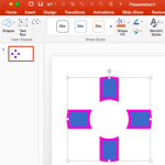 Shape Intersect Command in PowerPoint 2016 for Mac