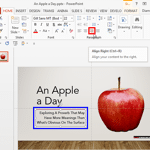 Text Alignment in PowerPoint 2013 for Windows