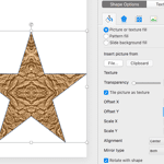 Tiling Options in PowerPoint 2016 for Mac
