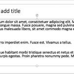 Insert Dummy Text in PowerPoint 2016 for Mac
