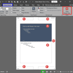 Notes Master View in PowerPoint 2019 for Windows