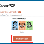 CleverPDF's PDF to PowerPoint Conversion