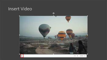 Insert Video Clips in PowerPoint for the Web