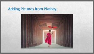 PowerPoint Add-in: Pixabay Images