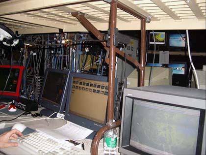 Typical Backstage setup for advanced graphics