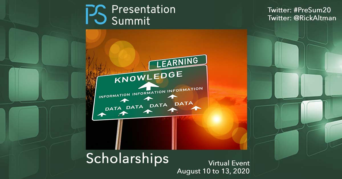 Scholarship Opportunity for the Presentation Summit