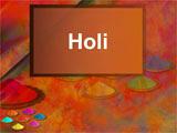 Holi PowerPoint Presentation