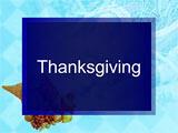 Thanksgiving Day PowerPoint Presentation
