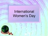 International Women's Day PowerPoint Presentation