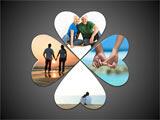 Four Hearts Circle