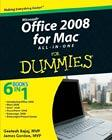 Office 2008 for Macintosh: All-in-One For Dummies