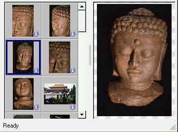 color photograph of the Buddha