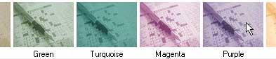 various colours