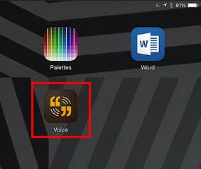 Adobe Voice icon