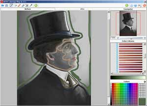Select appropriate colors from the Color Library or Color Palette