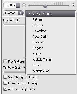 Frames list