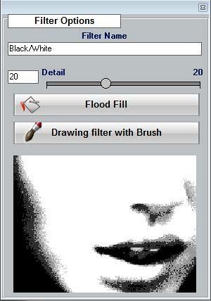 Filter Options dialog box