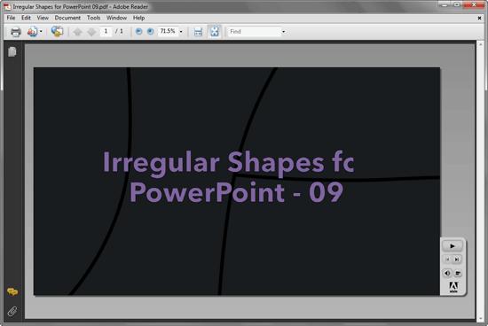 PDF output with no Sidebar and minimal navigation options