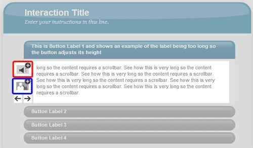 Editing button text