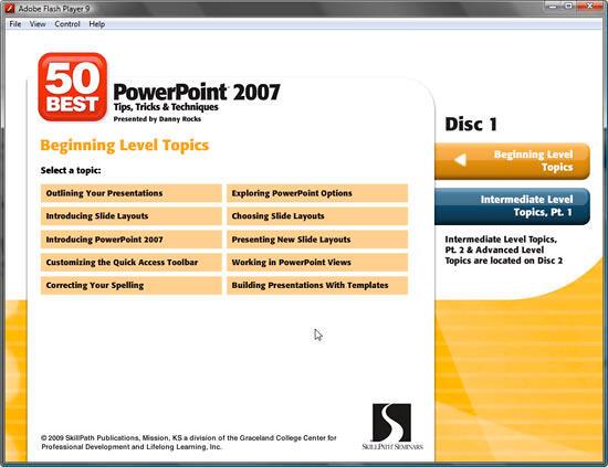 Beginning level topics
