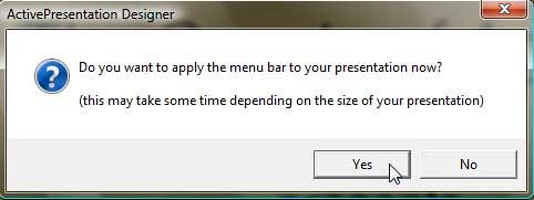 Apply menu bar
