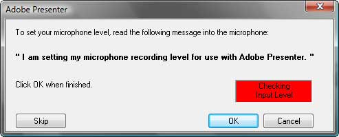 Test your microphone