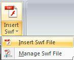 Insert Swf