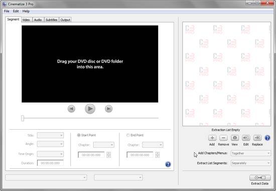 Cinematize 3 Pro interface