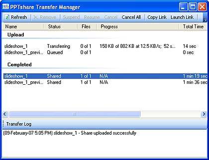 Transfer Manager