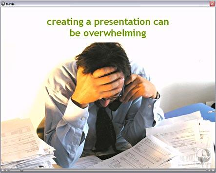 Lesson from Lynda's Effective Presentations training
