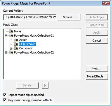 PowerPlugs Music