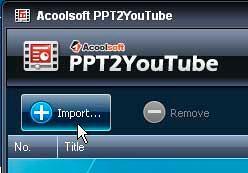 Import PPT
