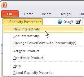 New Interactivity