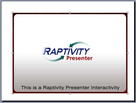 Interactivity on PowerPoint slide