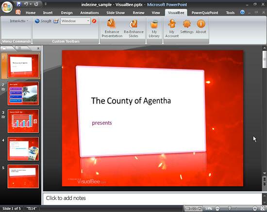 Enhanced presentation