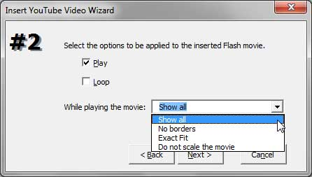Options for YouTube video to Play within PowerPoint