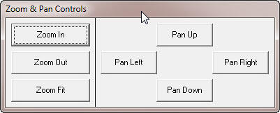 Zoom & Pan Controls toolbar