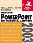 PowerPoint 2003 for Windows & Macintosh Visual Quickstart Guide
