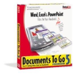 Dataviz's Documents to Go for hand-held PDAs
