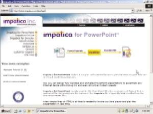 Impatica converts PowerPoint slideshows into animation-preserving Java