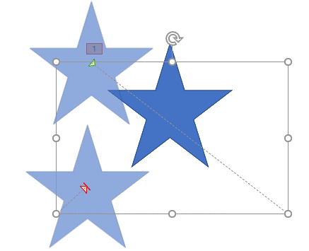 Starting and End points of the opened motion path repositioned