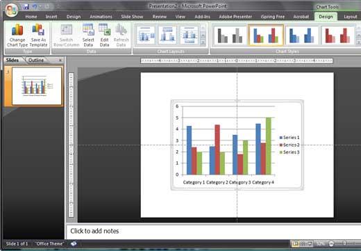 Chart tools